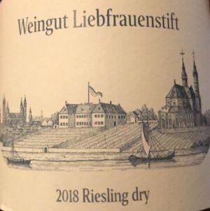 Weingut Liebfrauenstift Rheinhessen Dry Riesling WL13-18