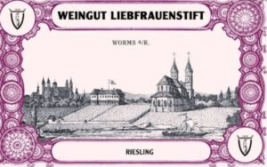 Weingut Liebfrauenstift Rheinhessen Dry Riesling WL13-16