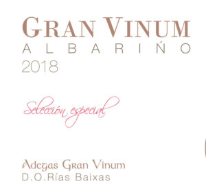 Adegas Gran Vinum Gran Vinum Albarino Seleccion Especial 2018