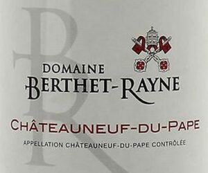 Domaine Berthet-Rayne Chateauneuf du Pape Rouge 2017