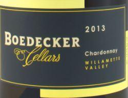 Boedecker Cellars Chardonnay 2013