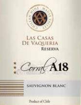 Las Casas De Vaqueria Corral A18 Reserva Sauvignon Blanc 2019