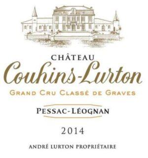 Couhins La Gravette BLANC Pessac Leognan 2014