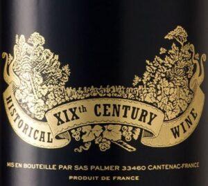Chateau Palmer Historical XIX Century Blend 2014