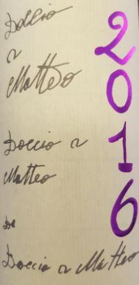 Caparsa  Doccio a Matteo Chianti Classico Riserva DOCG 2016