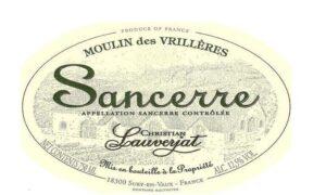 Christian Lauverjat Sancerre Moulin des Vrilleres BLANC 2020