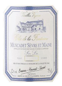 Clos de la Fontaine Muscadet De Sevre et Maine Sur Lie 2019