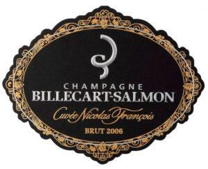 Billecart-Salmon Champagne Brut Cuvee Nicolas Francois  1.5L 2006