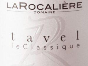 Domaine La Rocaliere Le Classique Tavel Rose 2018