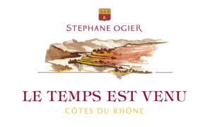 Domaine Stephane Ogier Cotes du Rhone Rouge Le Temps est Venue 2018