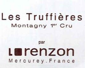 Bruno Lorenzon Montagny 1er Cru Les Truffieres BLANC 2019