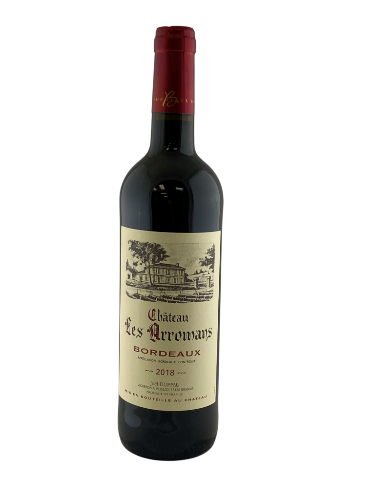 17636 Chateau les Arromans Bordeaux 2018