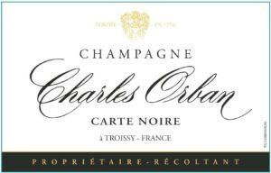 Charles Orban Champagne Carte Noire Brut 375ML NV