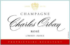 Charles Orban Champagne Rose Brut NV
