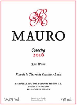 Bodegas Mauro VT Castilla y Leon Red 2016