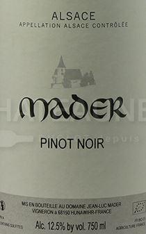 Jean Luc Mader Pinot Noir 2019