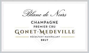 Gonet-Medeville Champagne Brut Premier Cru Blanc de Noirs NV