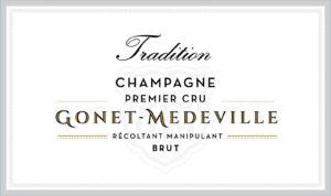 Gonet-Medeville Champagne Brut Premier Cru Tradition NV