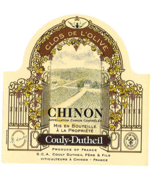 Couly-Dutheil Chinon Rouge Clos d'Olive 2016