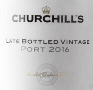 Churchills Late Bottled Vintage Ruby Port 2016