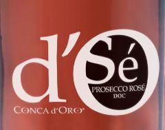 Fattoria Conca d Oro Prosecco Rose Millesimato Cuvee Brut NV