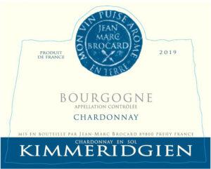 Jean-Marc Brocard Kimmeridgien Bourgogne Chardonnay en Sol 2019