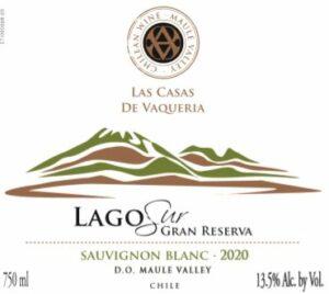 Las Casas De Vaqueria Lago Sur Gran Reserva Sauvignon Blanc 2020